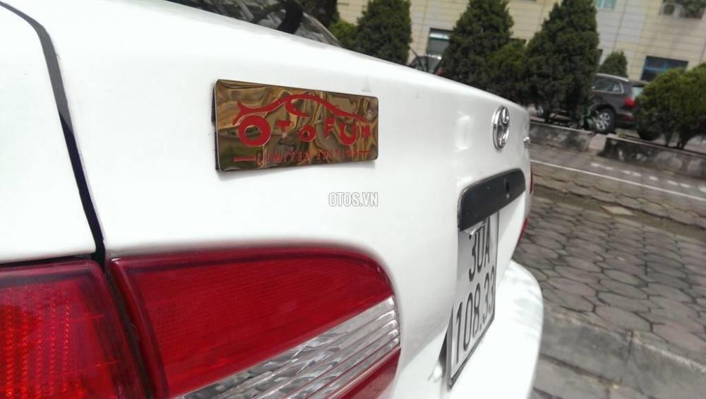 Toyota Corolla đời 2001, màu trắng, giá chỉ 230 triệu-8