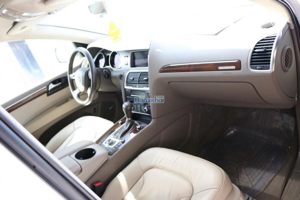 Cần bán xe Audi Q7 3-6L-Sline sản xuất 2010, màu trắng, xe nhập-5
