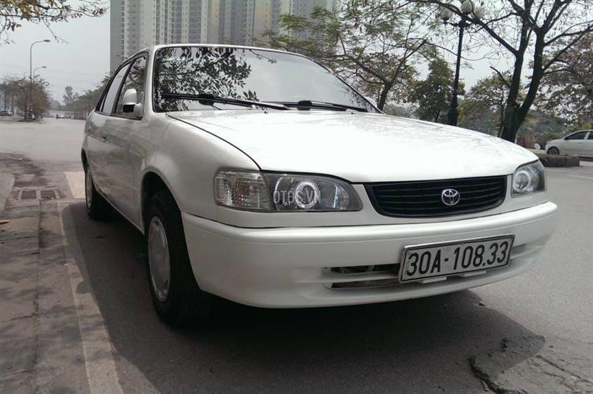 Toyota Corolla đời 2001, màu trắng, giá chỉ 230 triệu-0