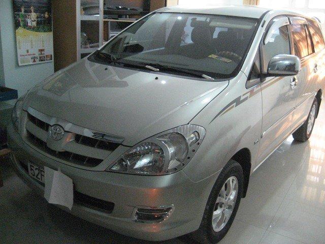 Bán xe Toyota Innova 2008, màu bạc, nhập khẩu, xe gia đình giá cạnh tranh nhanh tay liên hệ-0