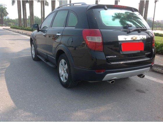 Cần bán Chevrolet Captiva đời 2009, màu đen, xe nhập giá 350 tr-2