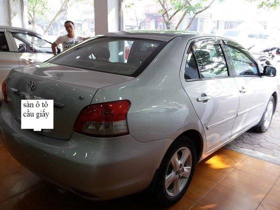 Toyota Vios 1.5 sản xuất 2008 màu bạc, số sàn, nội thất da màu kem-5