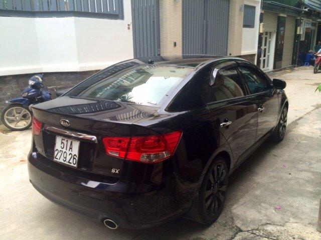 Cần bán gấp Kia Forte đời 2011, màu đen, nhập khẩu, số tự động, giá chỉ 500 triệu-0