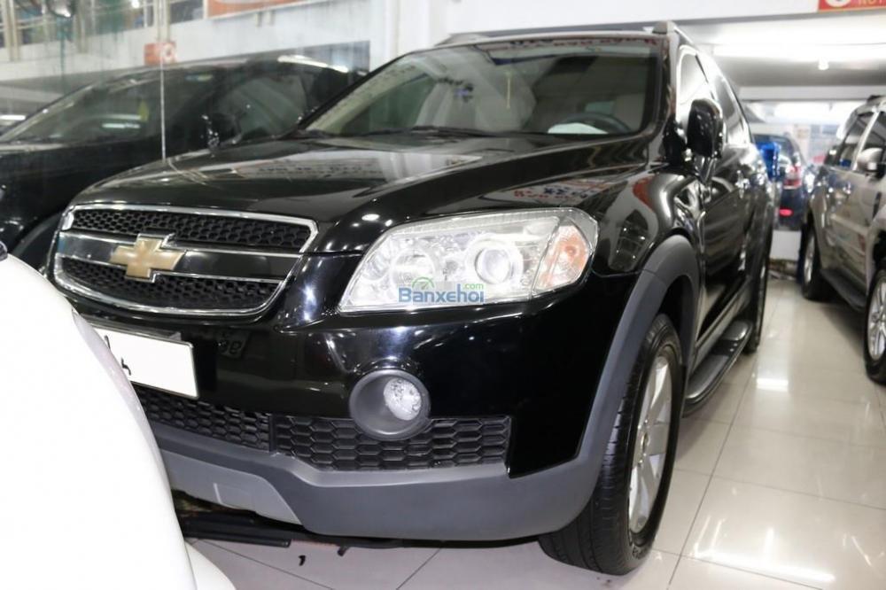 Chevrolet Captiva LTZ màu đen, sản xuất 2007-1