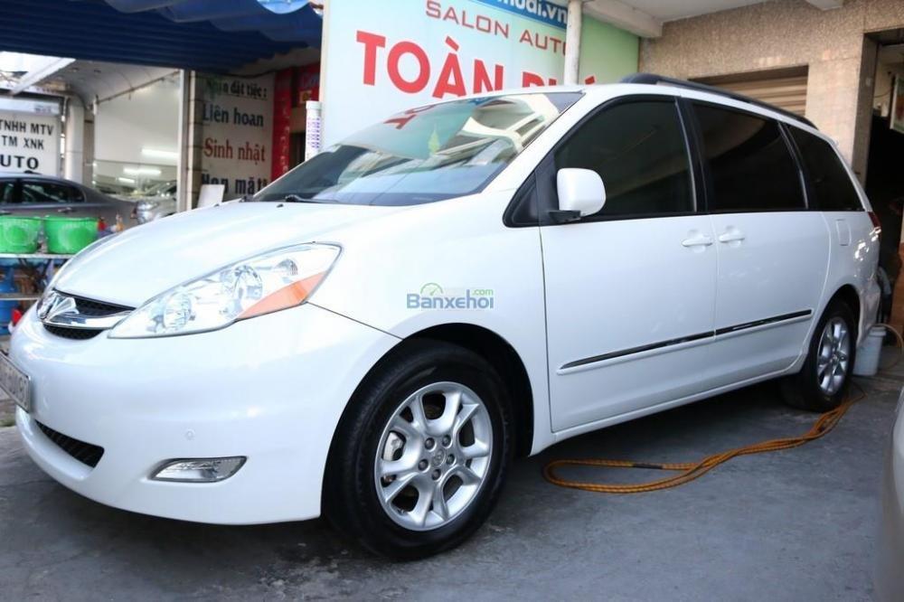 Toyota Sienna XLE-Limited-7-Passenger đời 2006, màu trắng, nhập khẩu-1