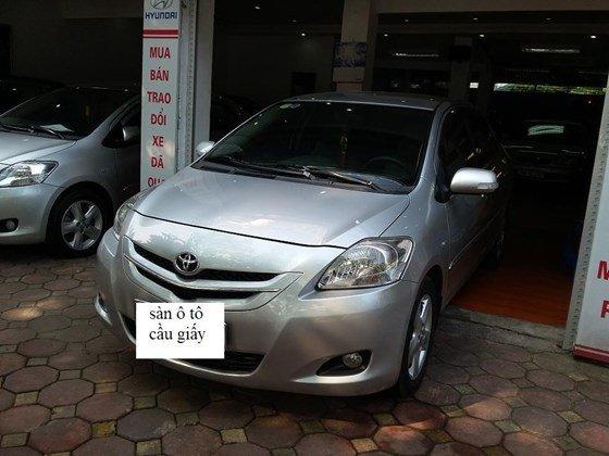 Toyota Vios 1.5 sản xuất 2008 màu bạc, số sàn, nội thất da màu kem-4