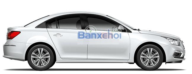 Bán Chevrolet Cruze 1.6 LT 2015 hoàn toàn mới, kiểu dáng thiết kế bắt mắt, đầy quyến rũ-4