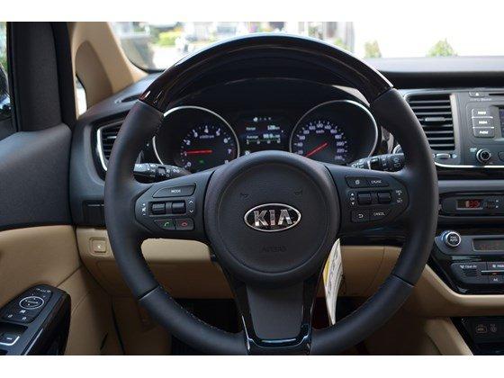Cần bán xe Kia Sedona DAT đời 2015, màu đen, xe nhập-10