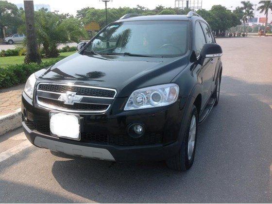 Cần bán Chevrolet Captiva đời 2009, màu đen, xe nhập giá 350 tr-6