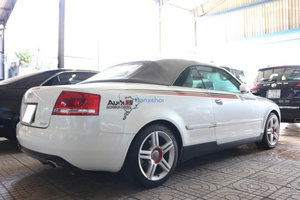 Cần bán xe Audi A4 2-0L-Turbo đời 2008, màu trắng, nhập khẩu nguyên chiếc, 920tr-3