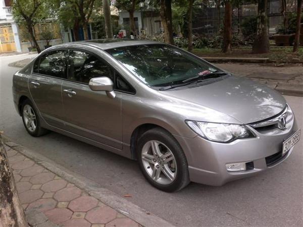Cần bán lại xe Honda Civic 2.0AT đời 2009, màu xám, chính chủ-0