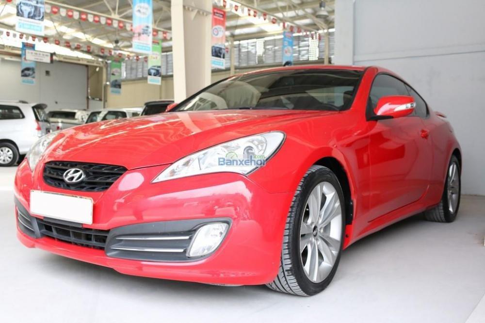 Cần bán xe Hyundai Genesis 2-0T 2010, màu đỏ, xe nhập, giá chỉ 750 triệu-2
