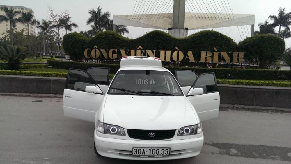 Toyota Corolla đời 2001, màu trắng, giá chỉ 230 triệu-12