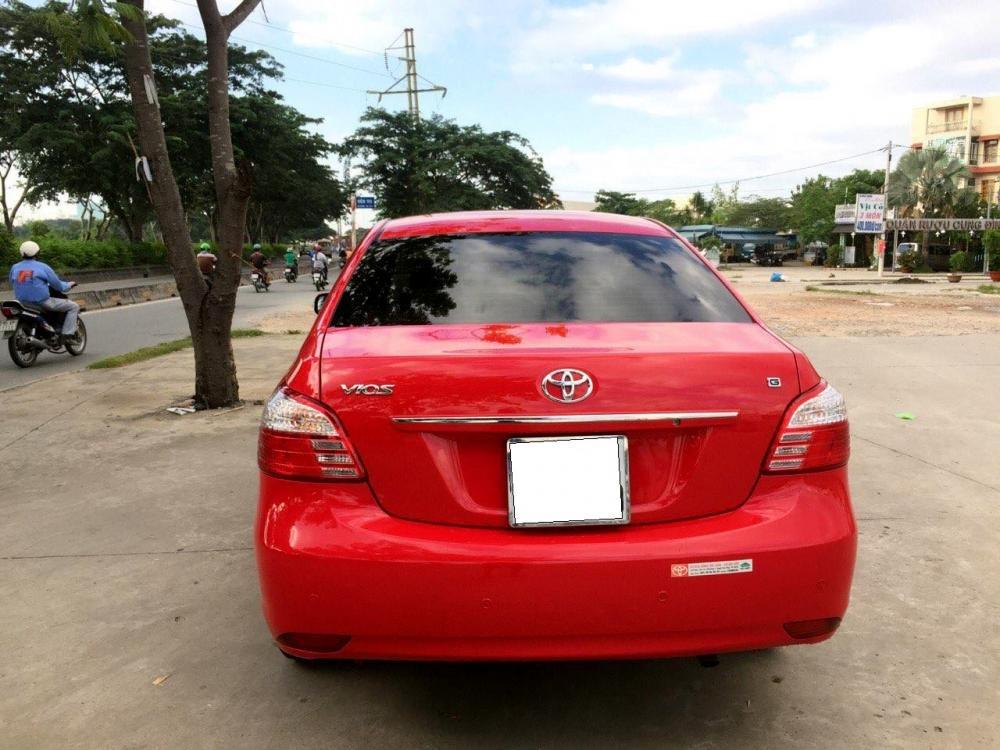Cần bán Vios số tự động SX cuối 2012 màu đỏ, xe gia đình sử dụng kĩ-3