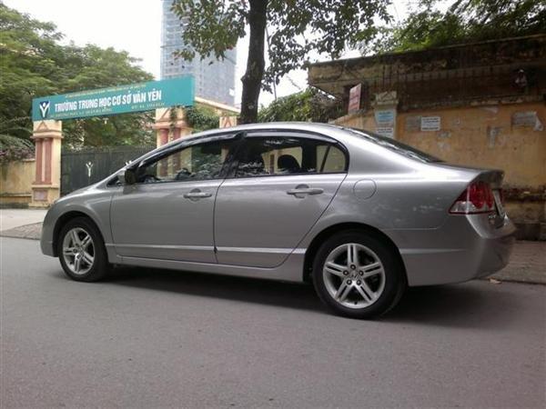 Cần bán lại xe Honda Civic 2.0AT đời 2009, màu xám, chính chủ-2