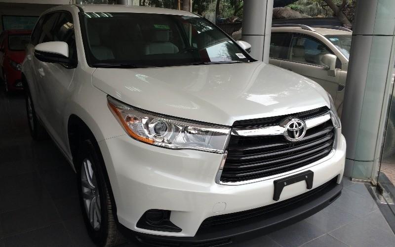 Bán Toyota Highlander 2015 sản xuất 2015 đủ màu, vui lòng liên hệ ngay để có giá tốt nhất-2