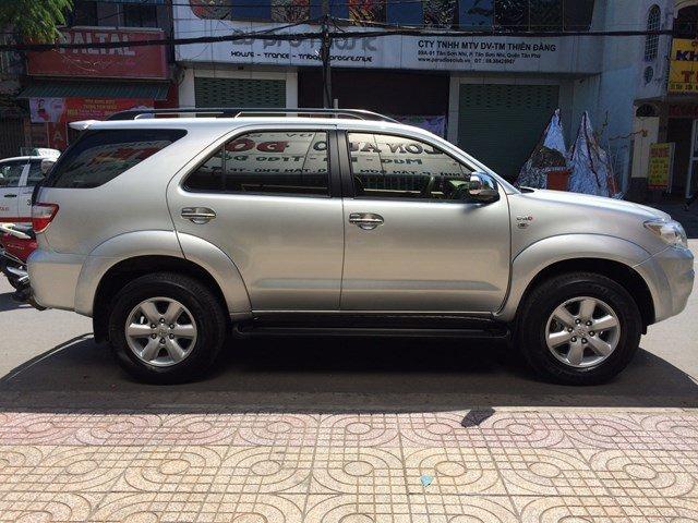 Cần bán lại xe Toyota Fortuner đời 2009, màu bạc, nhập khẩu-1