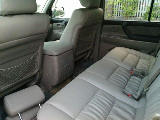 Bán xe Toyota Land Cruiser 8 chỗ, màu ghi hồng, đời cuối 2002, 2 ghế điện, tủ lạnh-3