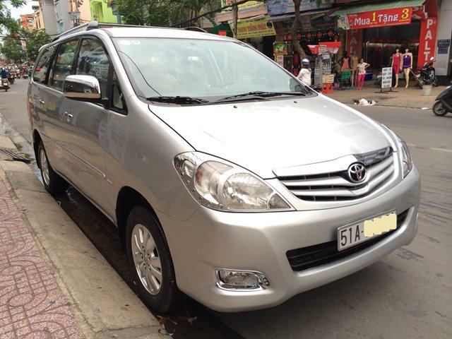 Innova G đời 2008, đăng ký 03/2009, màu ghi bạc, xe đẹp biển số thành phố HCM-0