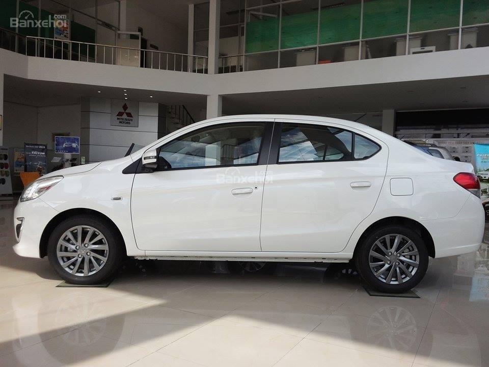Cần bán xe Mitsubishi Attrage đời 2015, màu trắng, nhập khẩu Thái Lan, giá tốt nhất TPHCM-0