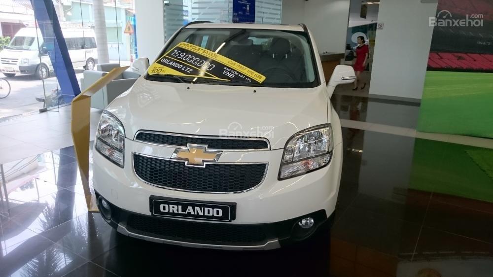 Bán xe Chevrolet Orlando 1.8 LTZ- AT sản xuất 2015, màu trắng - Người bạn tin cậy của gia đình-3