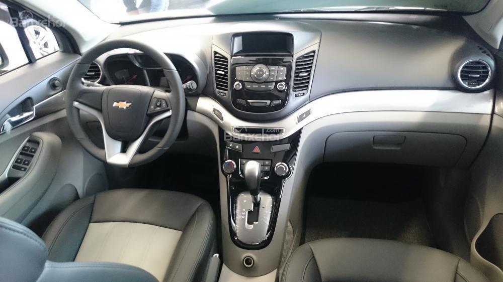 Bán xe Chevrolet Orlando 1.8 LTZ- AT sản xuất 2015, màu trắng - Người bạn tin cậy của gia đình-4