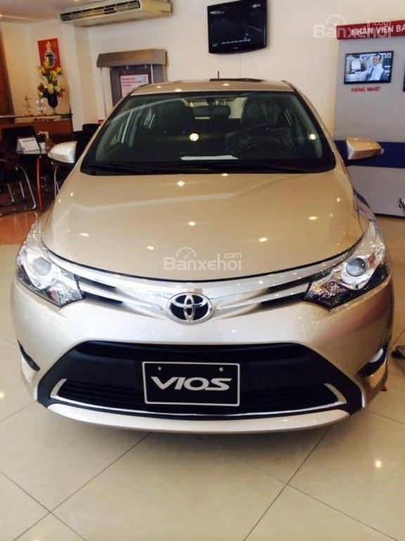 Toyota An Sương bán xe Vios G 2015, chương trình khuyến mãi đến 40tr -3