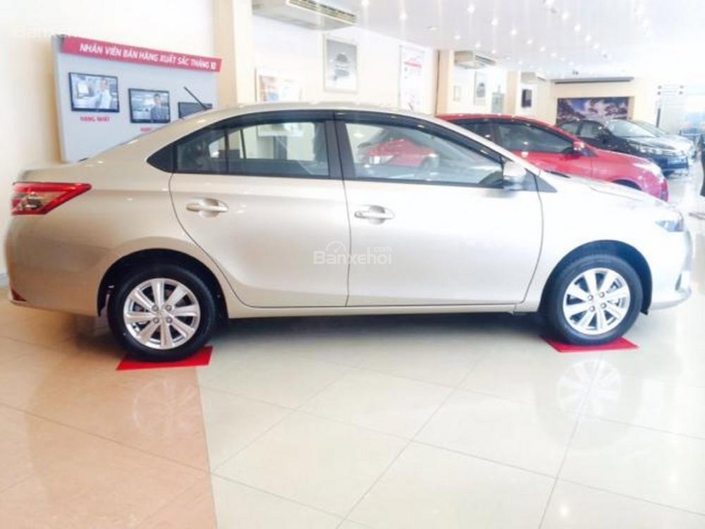 Toyota An Sương bán xe Vios G 2015, chương trình khuyến mãi đến 40tr -1