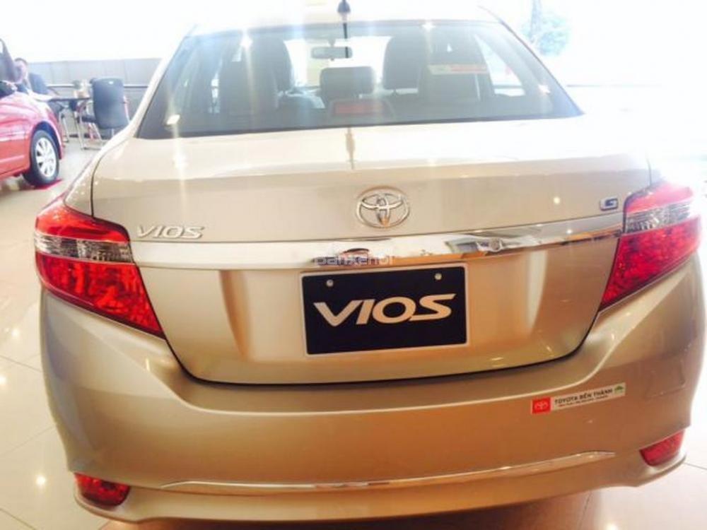 Toyota An Sương bán xe Vios G 2015, chương trình khuyến mãi đến 40tr -5