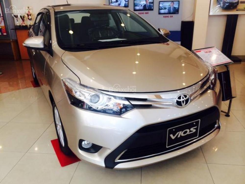 Toyota An Sương bán xe Vios G 2015, chương trình khuyến mãi đến 40tr -0