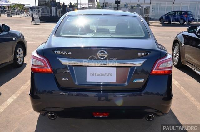 Bán xe Nissan Teana 2015, màu đen thiết kế đẹp-2