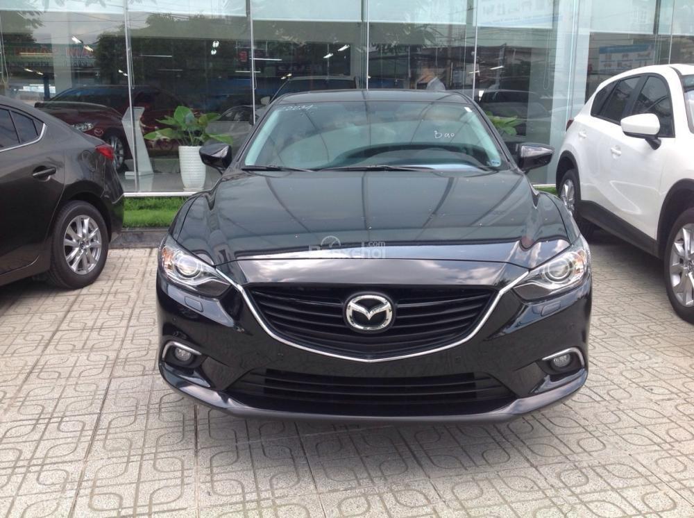 Mazda Gò Vấp bán Mazda 6 Full Option, công nghệ mới, thiết kế Kodo giá 978 triệu đã bao gồm VAT -0