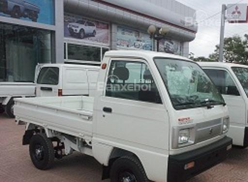 Cần bán xe Suzuki Super Carry Truck đời 2015, màu trắng-0