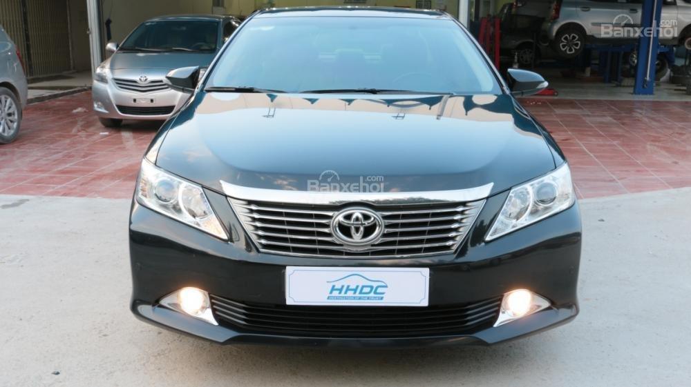 Bán ô tô Toyota Camry 2.5G AT đời 2013, màu đen-1