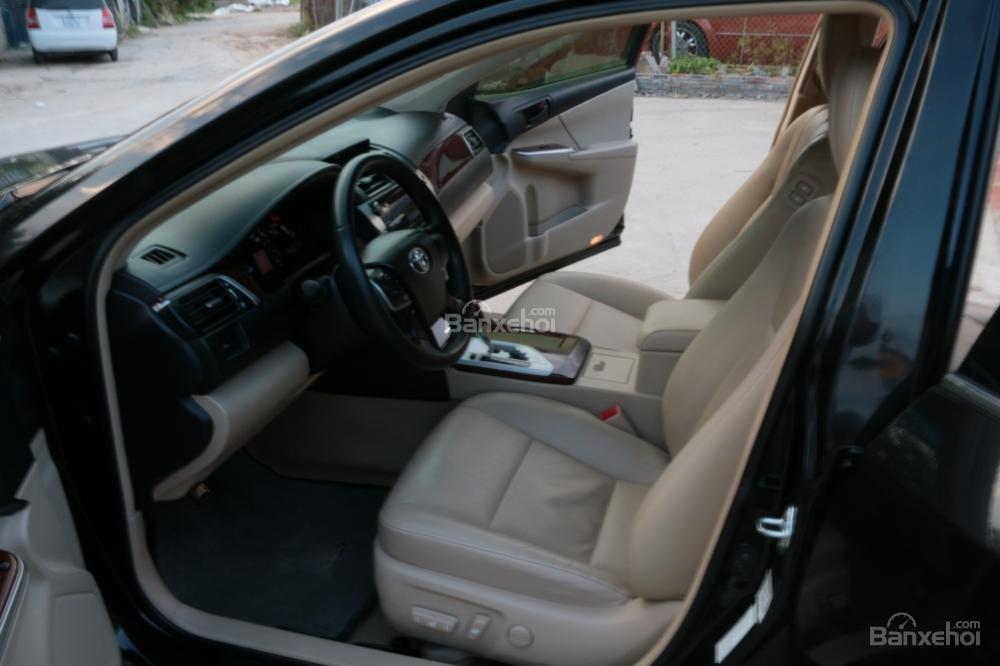 Bán ô tô Toyota Camry 2.5G AT đời 2013, màu đen-8