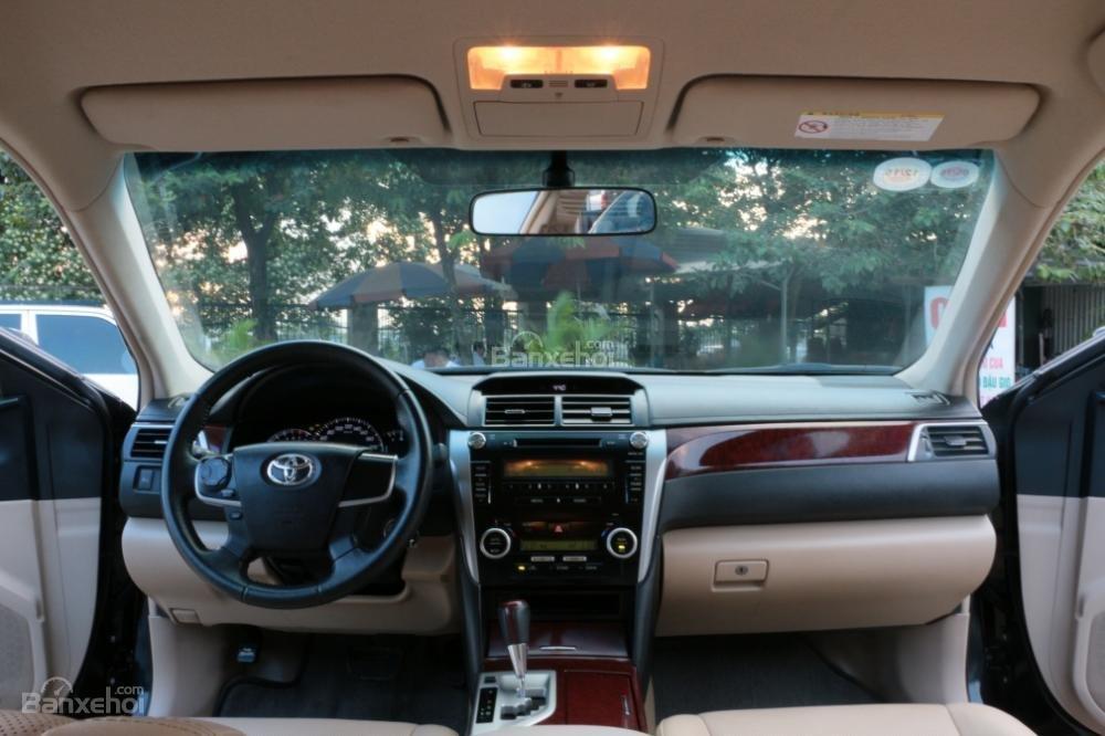 Bán ô tô Toyota Camry 2.5G AT đời 2013, màu đen-10