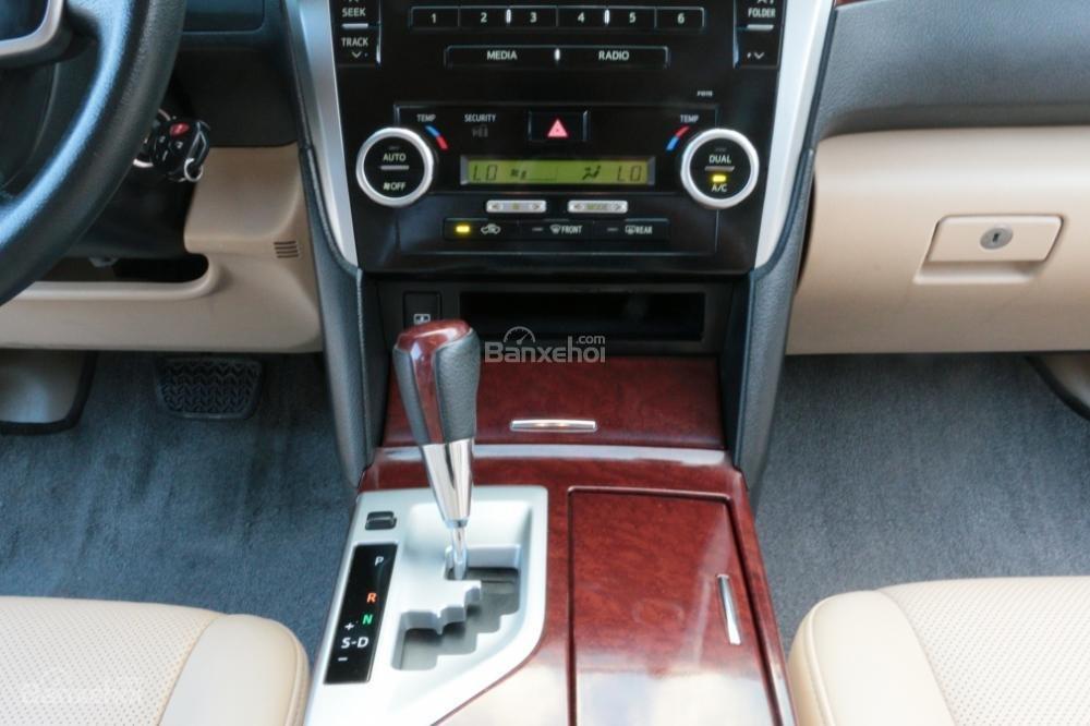 Bán ô tô Toyota Camry 2.5G AT đời 2013, màu đen-12