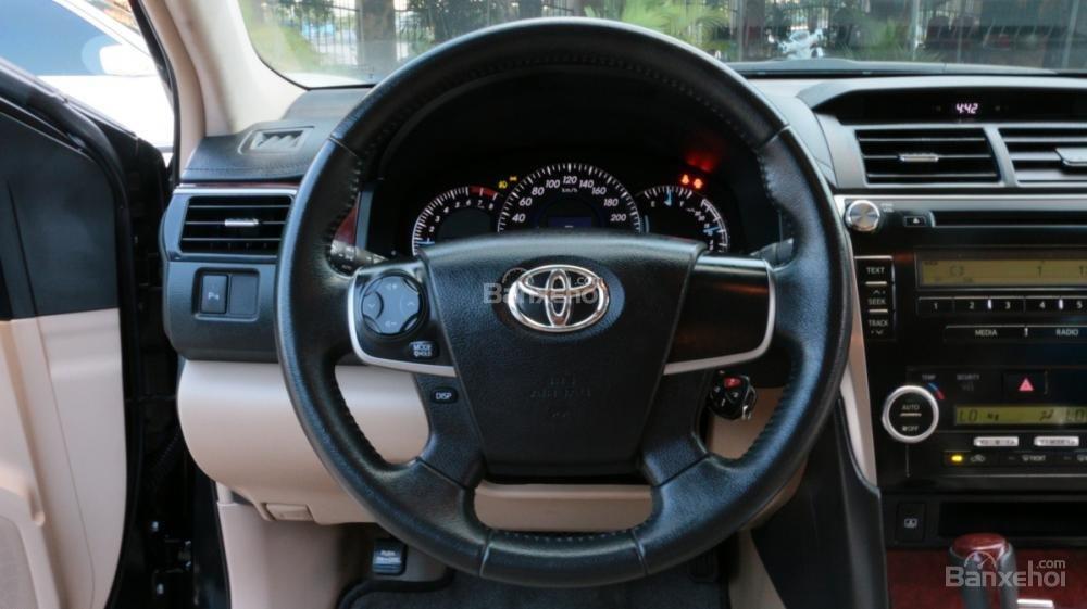 Bán ô tô Toyota Camry 2.5G AT đời 2013, màu đen-15