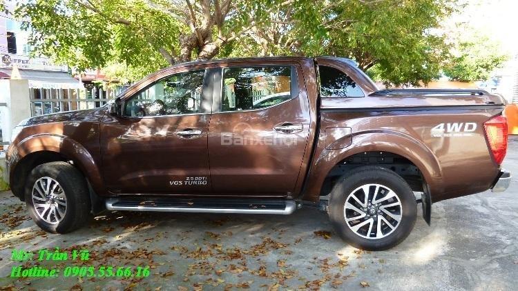 Bán Nissan Navara sản xuất 2016, màu nâu, nhập khẩu chính hãng giá cạnh tranh-1