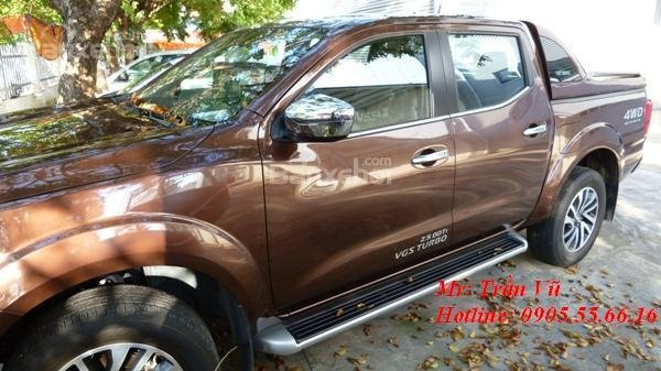 Bán Nissan Navara sản xuất 2016, màu nâu, nhập khẩu chính hãng giá cạnh tranh-11
