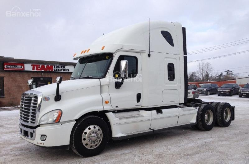 Bán xe đầu kéo Mỹ Freightliner Cascadia 2012 màu trắng, xe nhập nguyên chiếc -0
