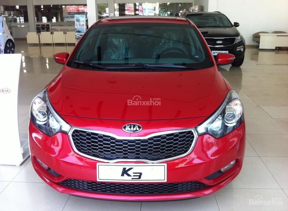 Cần bán Kia K3 2.0 AT đời 2015, màu đỏ-4