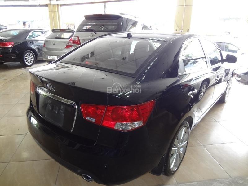 Bán ô tô Kia Cerato 1.6AT đời 2011, màu đen, xe nhập-2