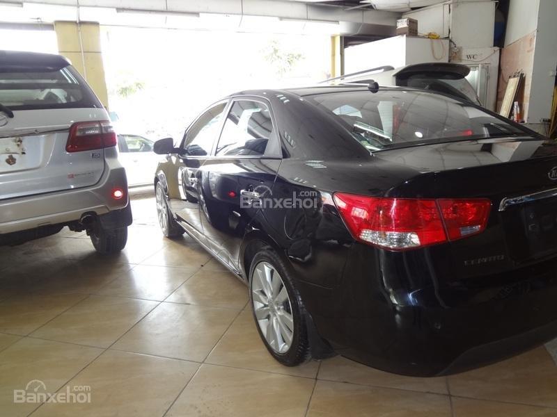Bán ô tô Kia Cerato 1.6AT đời 2011, màu đen, xe nhập-4