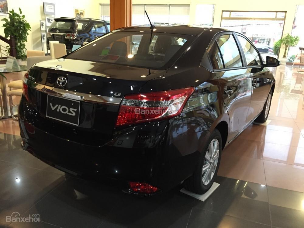 Cần bán Toyota Vios 1.5J sản xuất 2015, màu đen-11