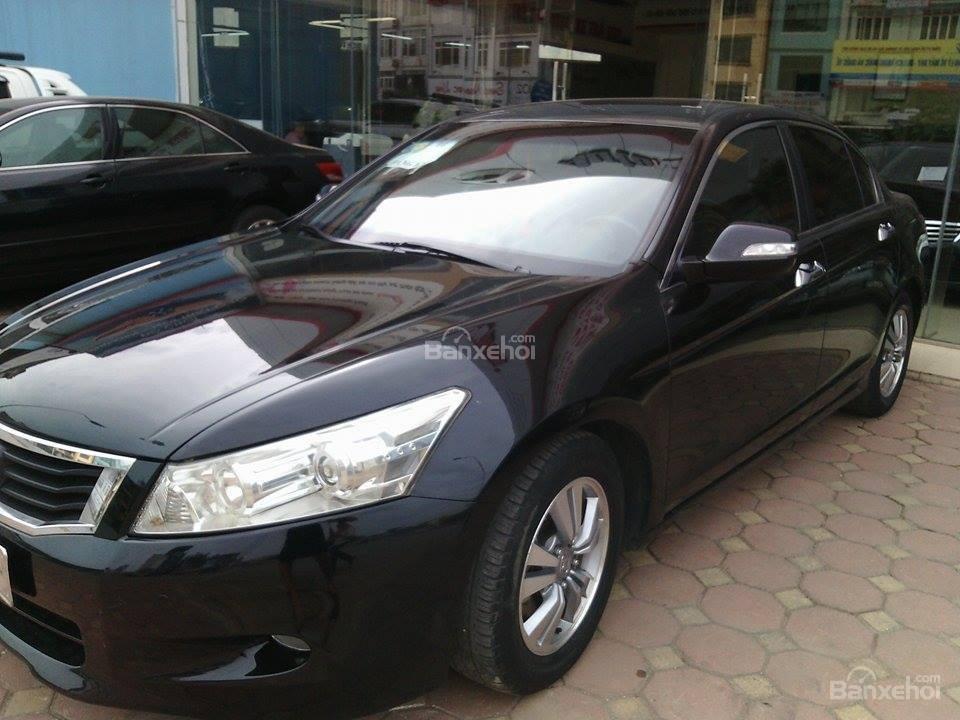 Gia đình cần bán ô tô Honda Accord 2.0 năm 2009, màu đen, nhập khẩu chính hãng, 755tr-0