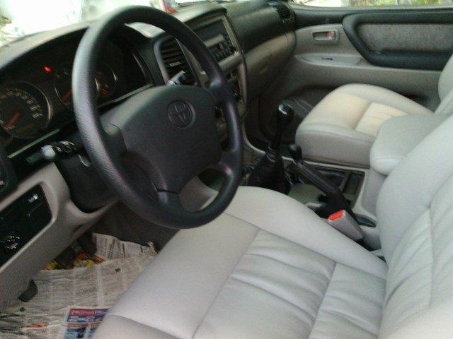 Bán xe Toyota Land Cruiser 8 chỗ, màu ghi hồng, đời cuối 2002, 2 ghế điện, tủ lạnh-4