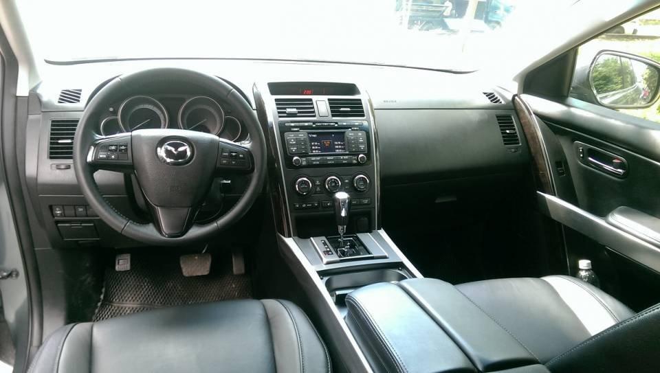 Bán ô tô Mazda CX 9 2012, màu xanh đá, nhập khẩu nguyên chiếc-10