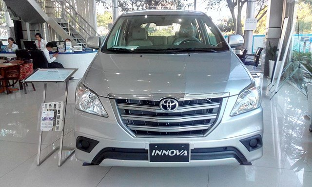 Xe Toyota Innova đời 2015, màu bạc, nhập khẩu nguyên chiếc-1