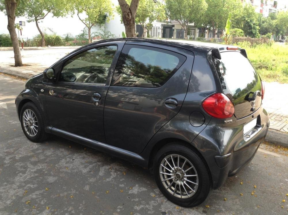 Toyota Aygo nhập Japan, số sàn, sản xuất 2005, đăng ký 2006, màu xám-3